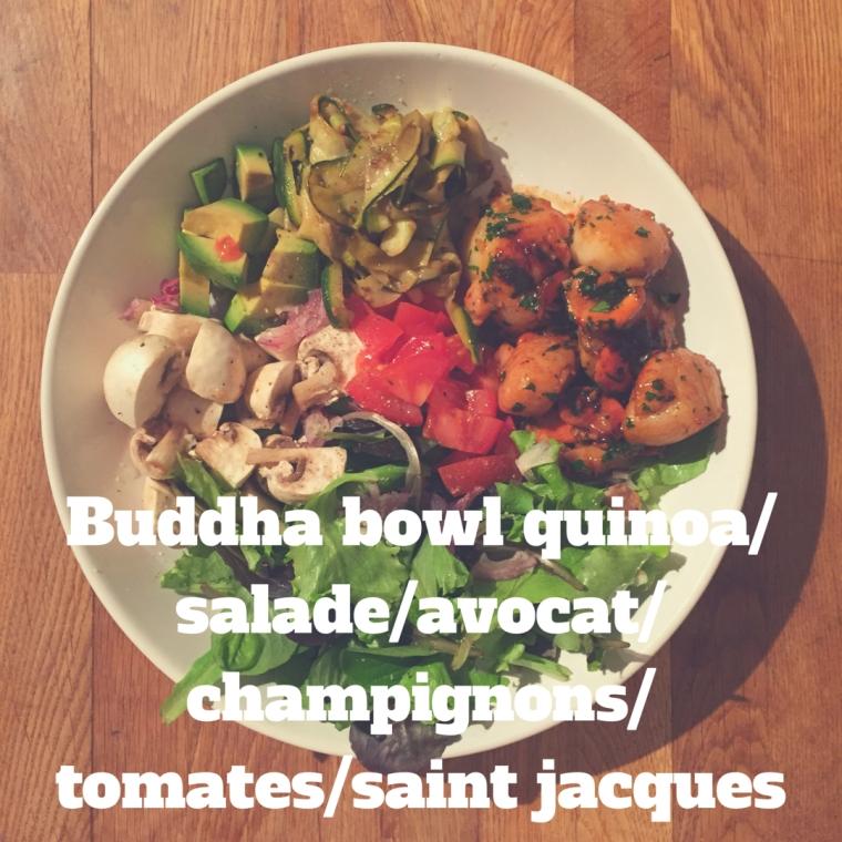 buddha-bowl-quinoasaladeavocatchampignonstomatessaint-jacques
