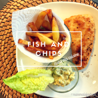 Fish and chips à la maison
