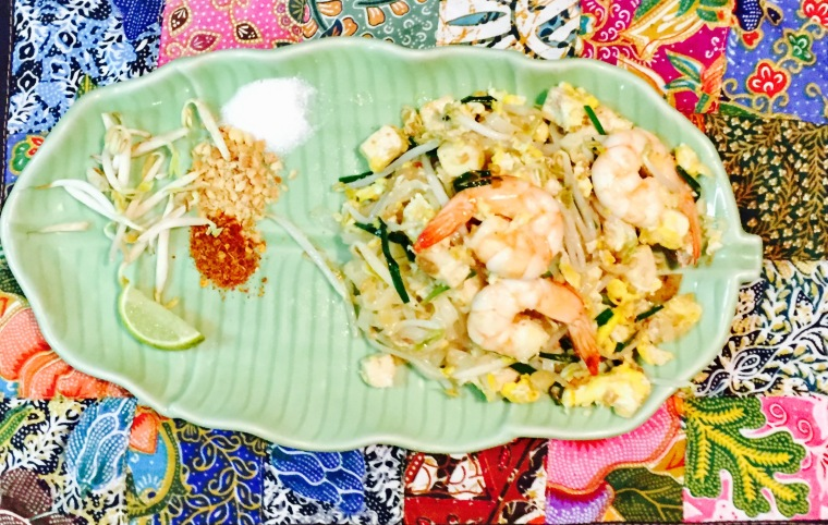 traditionnel pad thai
